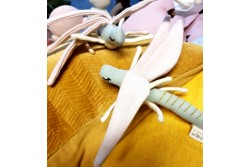 Sudenkorento, dragonfly pehmo, 19cm, luomupuuvillaa